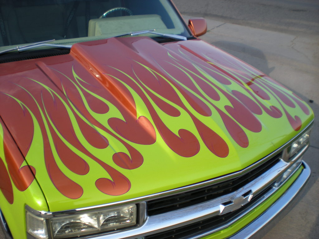 Custom Paint Services Motor Sport Concepts